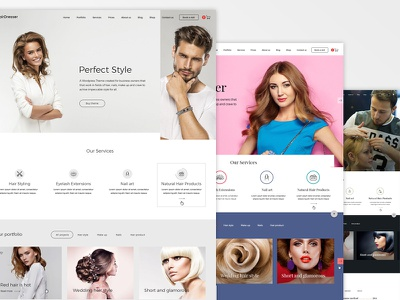 Hairdresser WordPress Theme themeforest theme hairdresser wordpress
