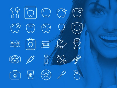 25 FREE Vector Icons for Dental Niche svg ai png eps niche wordpress free icons dental vector