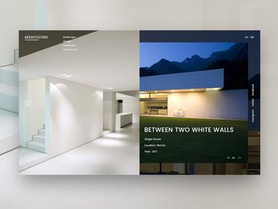 Architectural WordPress Theme Design psd photoshop design theme wordpress architects