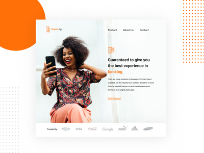 Gravii.ng lagos state nigeria interface design uiux website ui