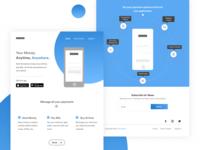 High Fidelity Website Mockup