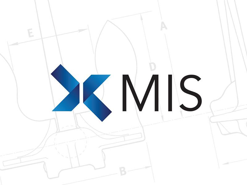 MIS Logo identity design branding logo design mis anchor logo marine