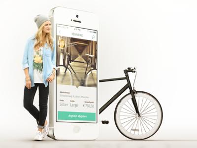 Bike App - COBE User Interface Design München