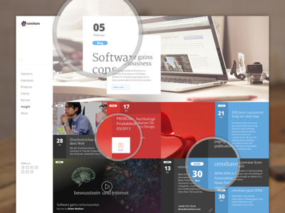 Insight Page Design
