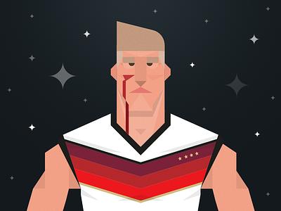 Schweinsteiger munchen germany cobe munich cobemunich münchen ui icon illustration soccer worldcup schweinsteiger