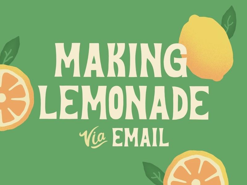 Making Lemonade green yellow design typogaphy citrus wfh work from home fruit letters lyrics quarantine covid-19 twentyonepilots typography art procreate lemonade lemons summer illustration handlettering