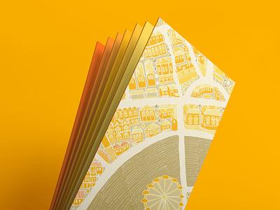 London Bookmarks store design souvenir bookmarks city london eye map adobe illustration london