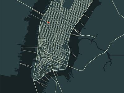 Manhattan Grid christmas movie illustration motion graphics manhattan grid