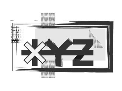 XYZ vector branding identity illustrator
