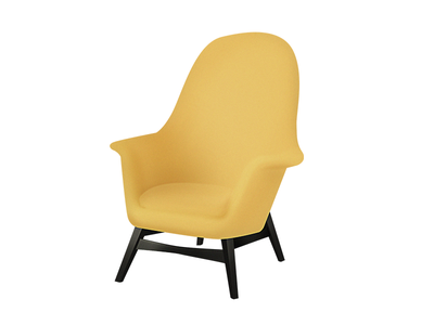 Yellow Chair chair furniture ux ui illustration