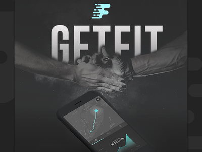 GetFit app ui ux