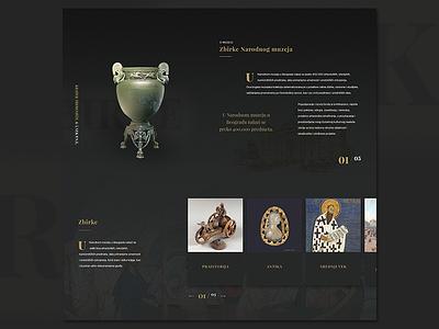 Museum museum webdesign ux ui