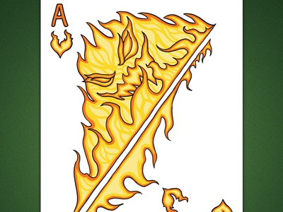 Ace of Hearts aka Ace of Fire