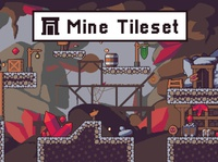 Mine Tileset Pixel Art
