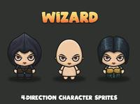Wizard 4-Direction Sprites