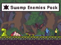 Swamp Enemies Sprite Sheets