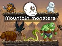 Mountain Monsters Pixel Art
