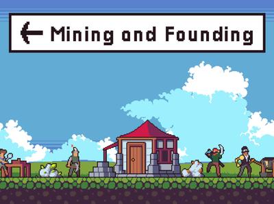 Mining Game Assets Pixel Art mining sprite platformer pixel art indie game gamedev game design game assets character 2d