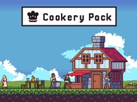 Cookery Game Assets Pixel Art sprite platformer pixel art indie game gamedev game design game assets character 2d