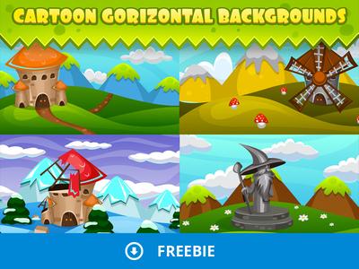 Cartoon Game Backgrounds