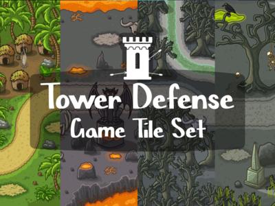 Tower Defense Tile set 2