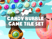 Candy Bubble Game Assets