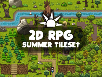 RPG Summer Tileset