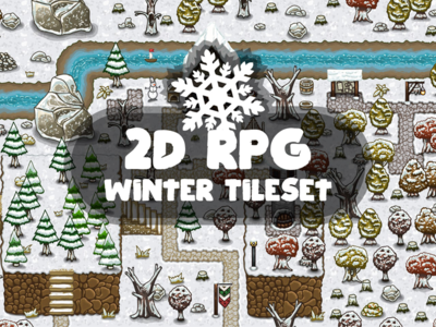 RPG Winter Tileset