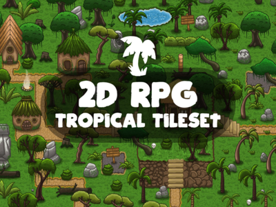 RPG Tropical Tileset