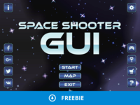 Free Space Shooter GUI
