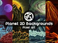 Planet Pixel Art 2D Backgrounds