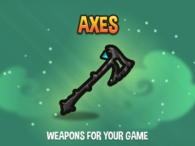 Axes Weapon Pack