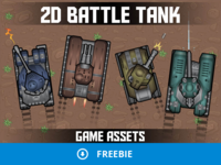 Free 2D Tank Game Assets
