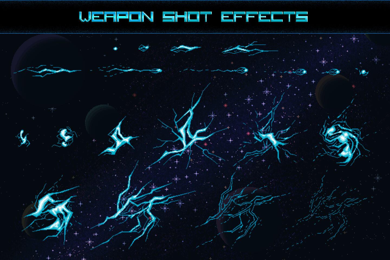 Space shooter creation kit pixel art13