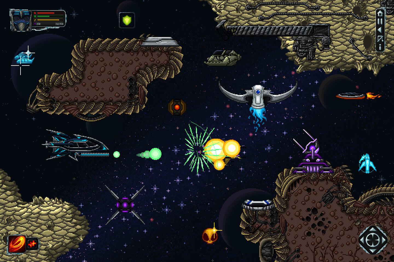 Space shooter creation kit pixel art2