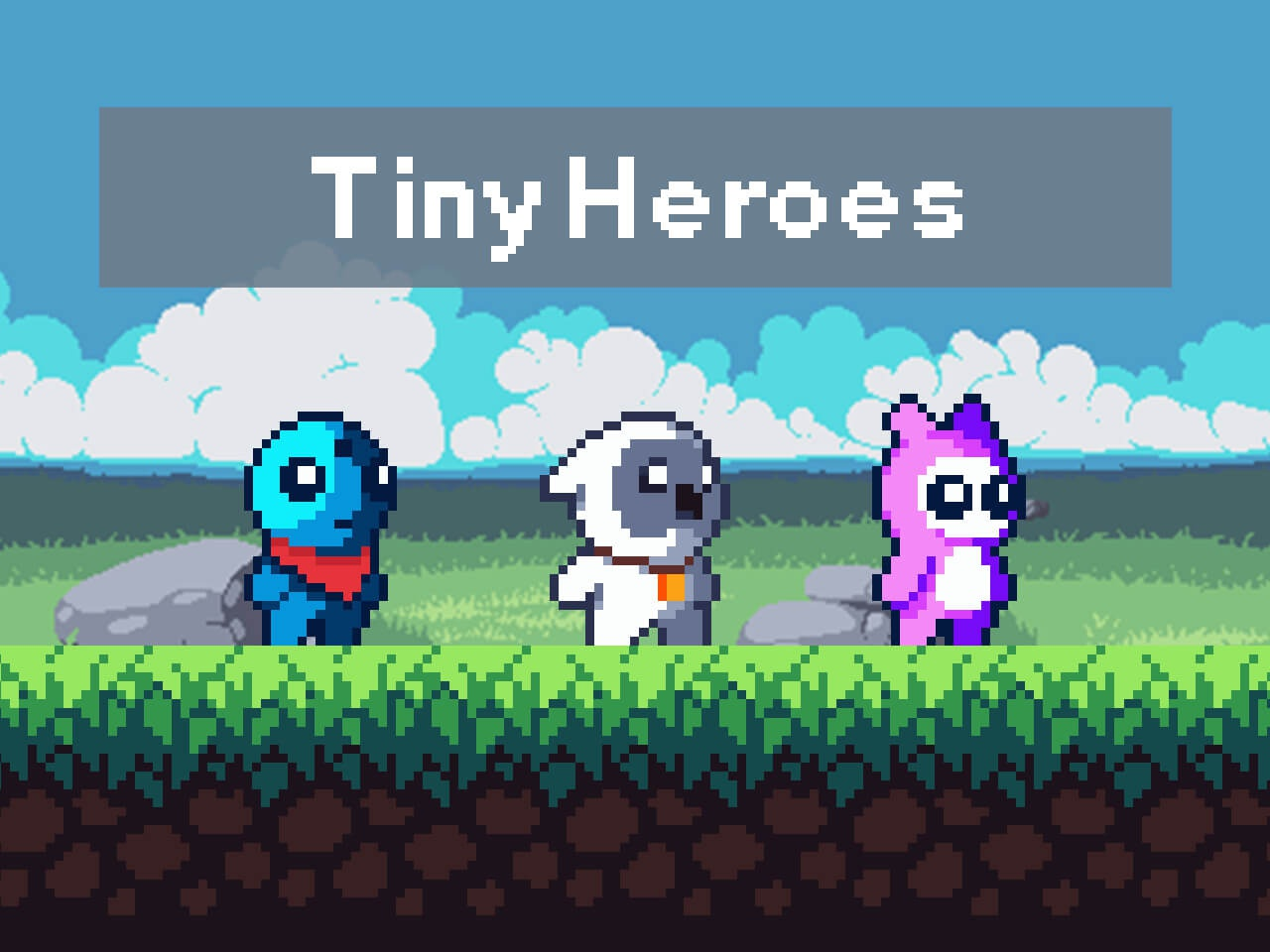 Free Tiny Hero Sprites by 2D Game Assets on Dribbble
