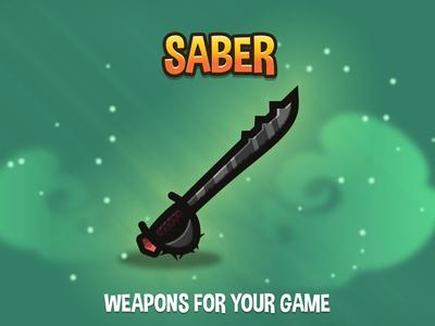 Saber 2d Weapons
