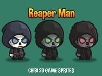 Free Reaper Man Chibi Sprites