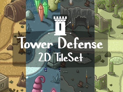 Tower Defense Tileset