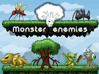 Monster Enemy 2D Sprites Pixel Art