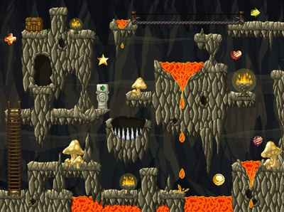 Free Dungeon 2D Tileset Pixel Art