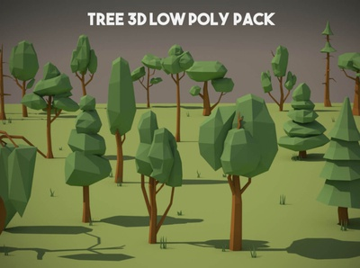 Free Tree 3D Low Poly Models