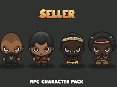 Seller NPC Characters
