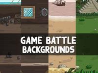 2D Battle Backgrounds