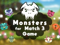 Free Monsters for Match 3 Game