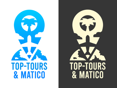 Travel Agency Logo - Top-Tours & Matico
