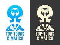 Travel Agency Logo - Top-Tours & Matico