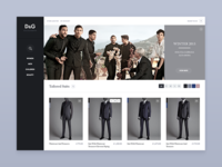Fashion Concept Product Page