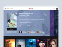 Netflix Ipad App Header