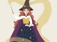 Folktale Week Illustration - Witch